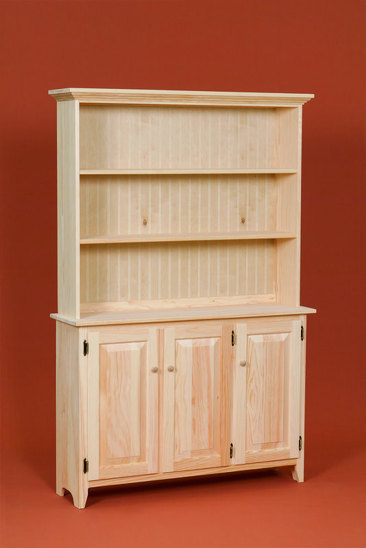 Gothic Craft Country Bookcase With Shelves And