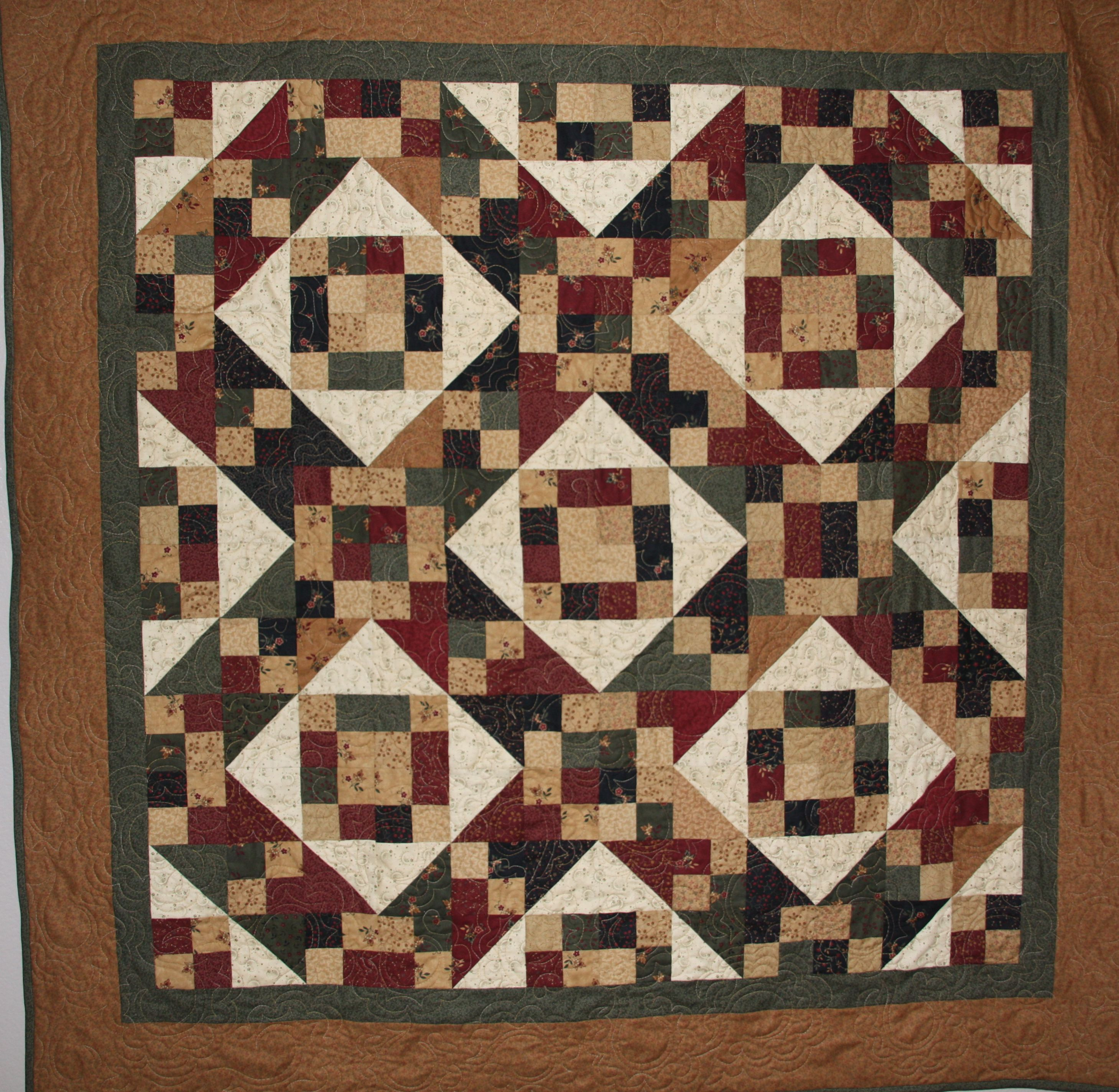 Jacob's Latter's Quilt Created By Critterbug Creations