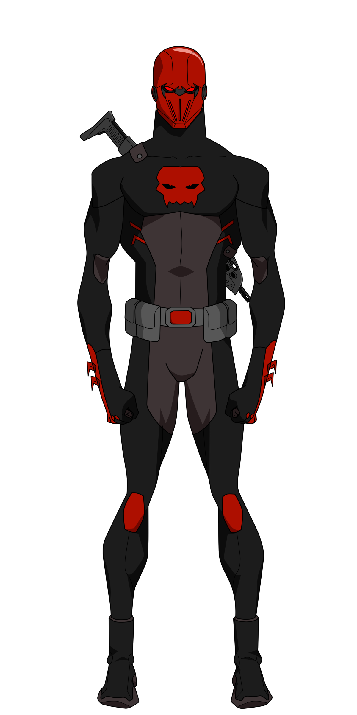 Character Design Young Justice : Jason todd outlaws design by bobkitty viantart on