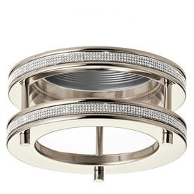Recessed Lighting Trim Rings Kichler Angelica Polished Nickel Baffle Recessed Light Trim Fits