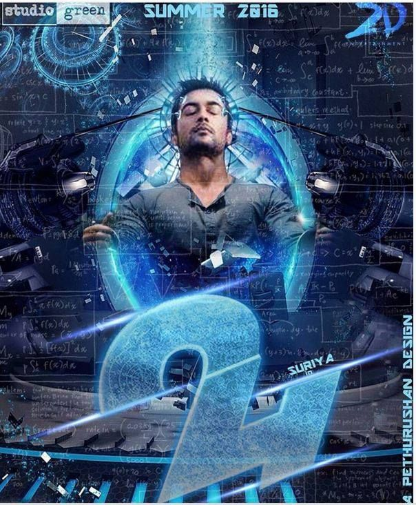24 movie posters tamil cinema news pinterest movie 24 movie video songs details in this april suriya has going to presenting his film in the meantime tips entertainments has present some exclusive video altavistaventures Images