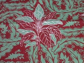 Batik Sumedang motif daun hanjuang   Daun, Desain, Fotografi