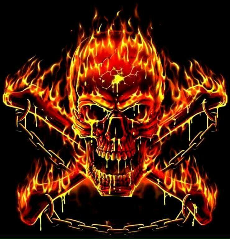 вспышки картинки черепов в огне с костями этой игре тебе
