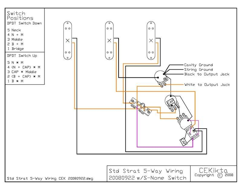 jeff baxter strat wiring diagram - Google Search | guitar wiring ...