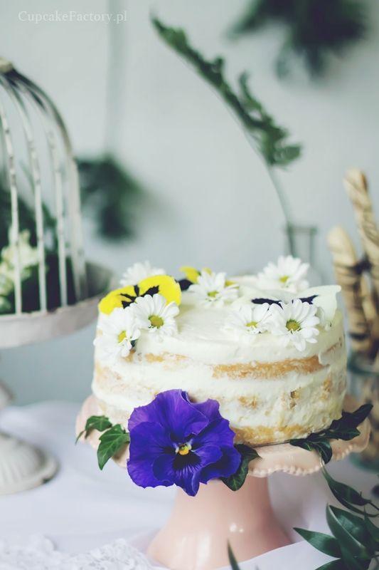 Rhubarb layer cake  Cupcake Factory