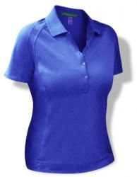 Golf Knickers: Ladies Microfiber Solid Polo Golf Shirt.  Buy it @ ReadyGolf.com
