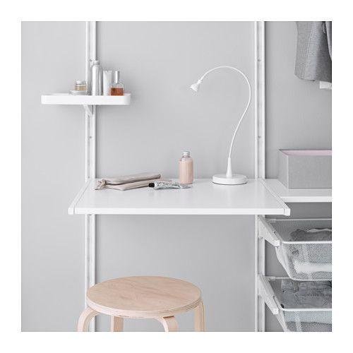 image result for ikea algot wall shelves home office workspace pinterest bureau. Black Bedroom Furniture Sets. Home Design Ideas