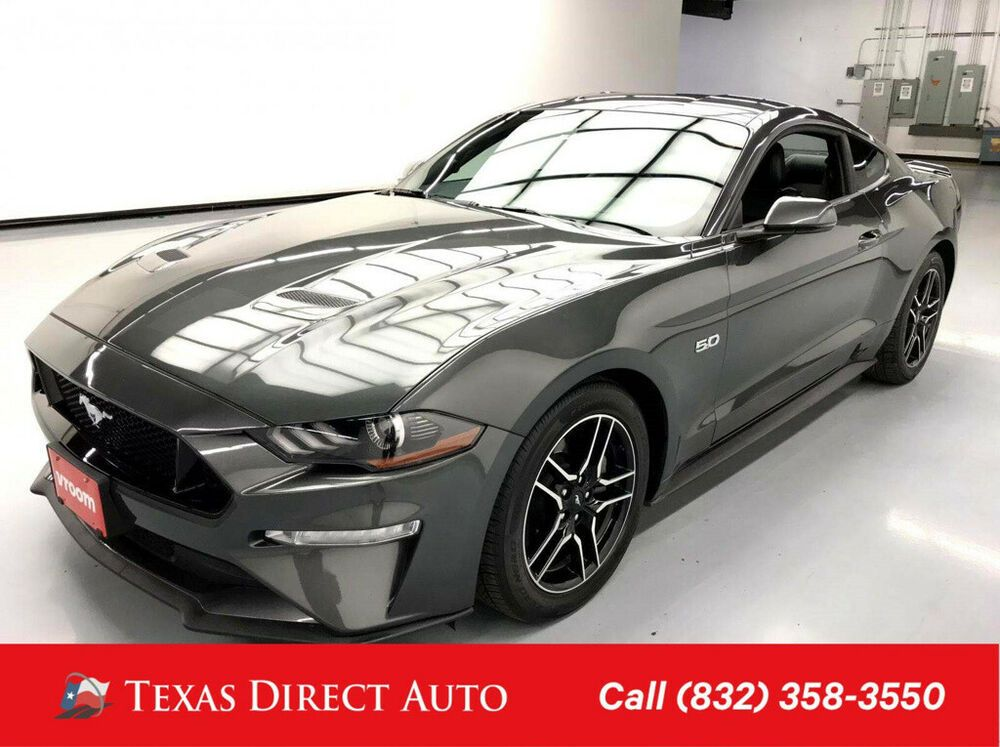 $27,999 · 2019 ford mustang. 2019 Ford Mustang Gt Premium Texas Direct Auto 2019 Gt Premium Used 5l V8 32v Automatic Rwd Coupe Premium Ford Mustang Gt Ford Mustang Mustang Gt