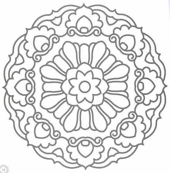 Printable Coloring Mandala Designs | Larakroemer Net