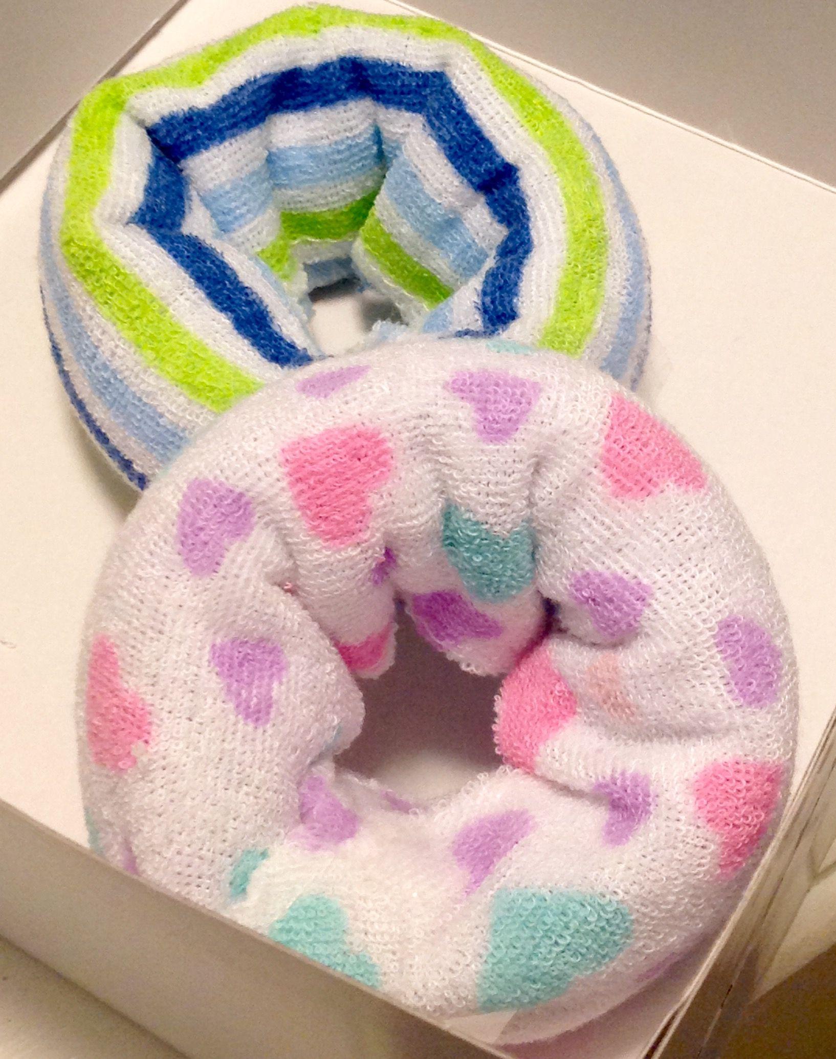 Diaper Cloth Donuts