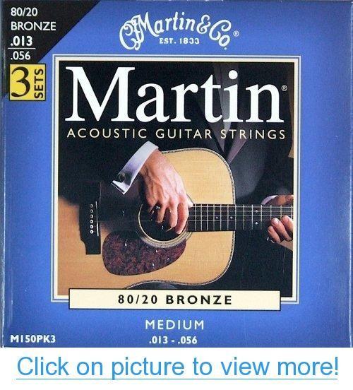 Martin M150 80 20 Acoustic Guitar Strings Medium 3 Pack Martin M150 80 20 Acoustic Guitar Acoustic Guitar Strings Martin Acoustic Guitar Guitar Strings