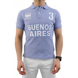 "Buenos Aires Polo Team - Sky Blue £120.00- ""Best fitting polo shirt I've ever had"" -Roddy Williams, England Polo Team"