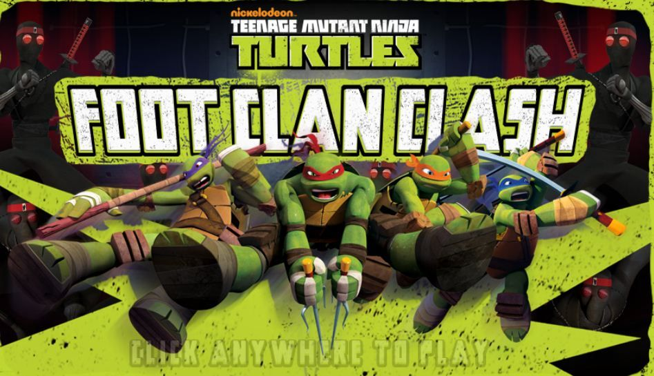 Play Tmnt Foot Clan Clash Game Online Clash Games Tmnt Online Games For Kids