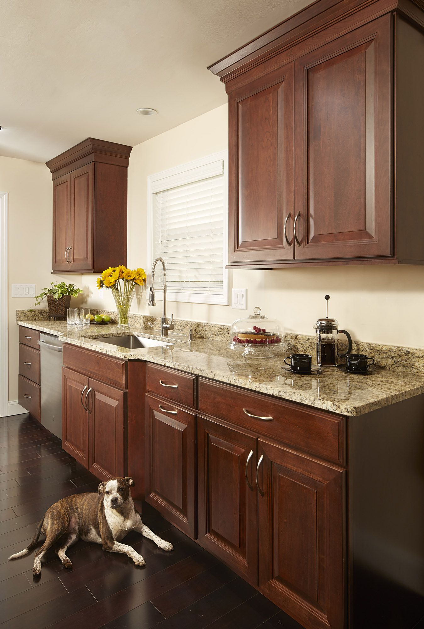 Cherry Shaker Cabinets Kitchen Remodeling Photos Kitchen Cabinets Cherry Wood Kitchen Cabinets Kitchen Remodel
