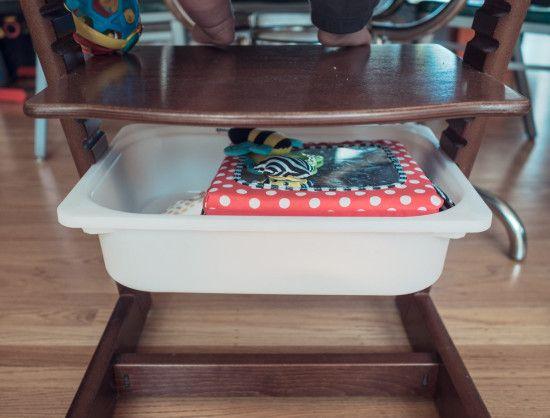 Stokke Kinderzimmer ~ Stokke tripp trapp high chair with a cheap trofast storage hack