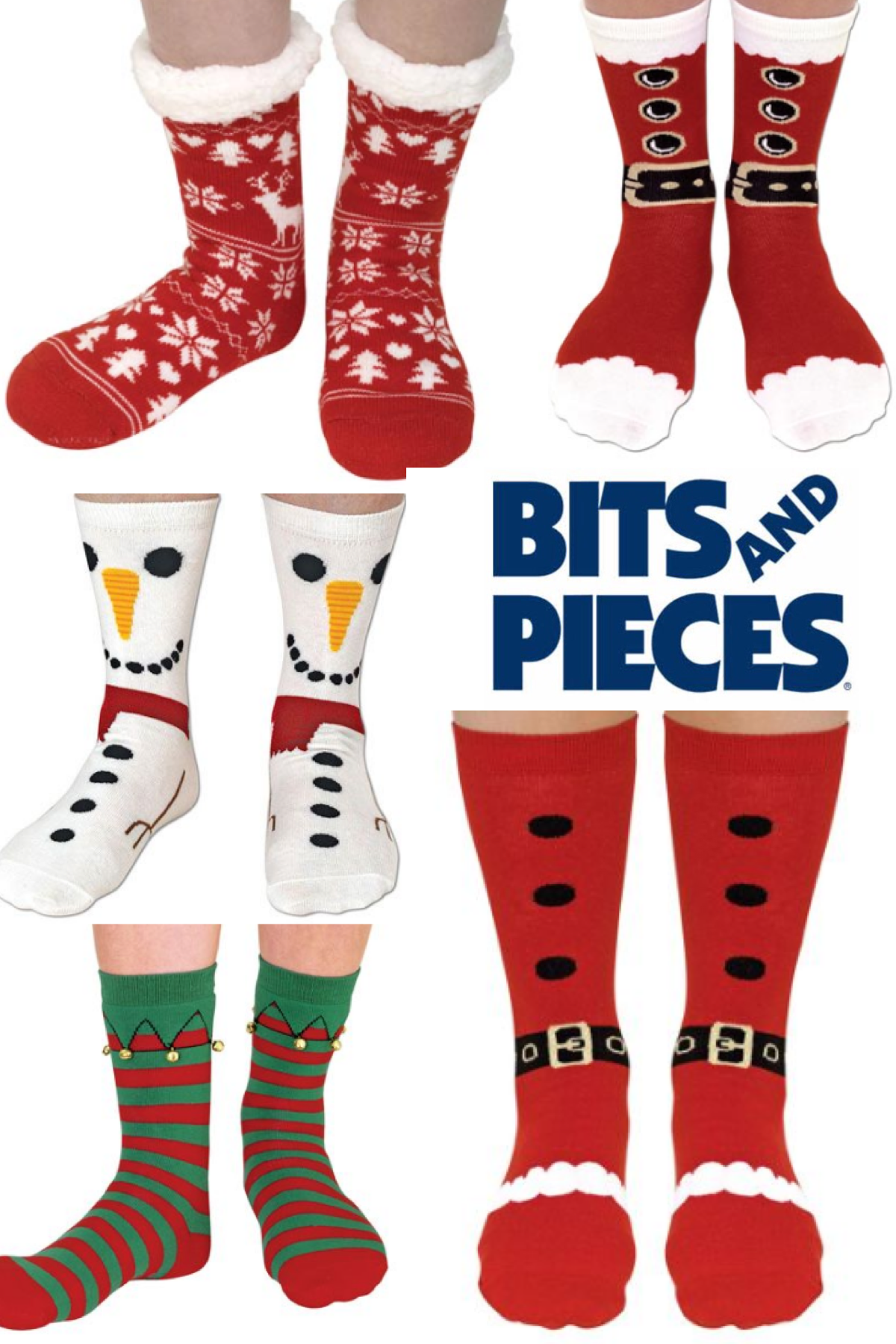 Bits and Pieces Holiday SILLY SOCKS! | Wardrobe: SOCK it to me ...