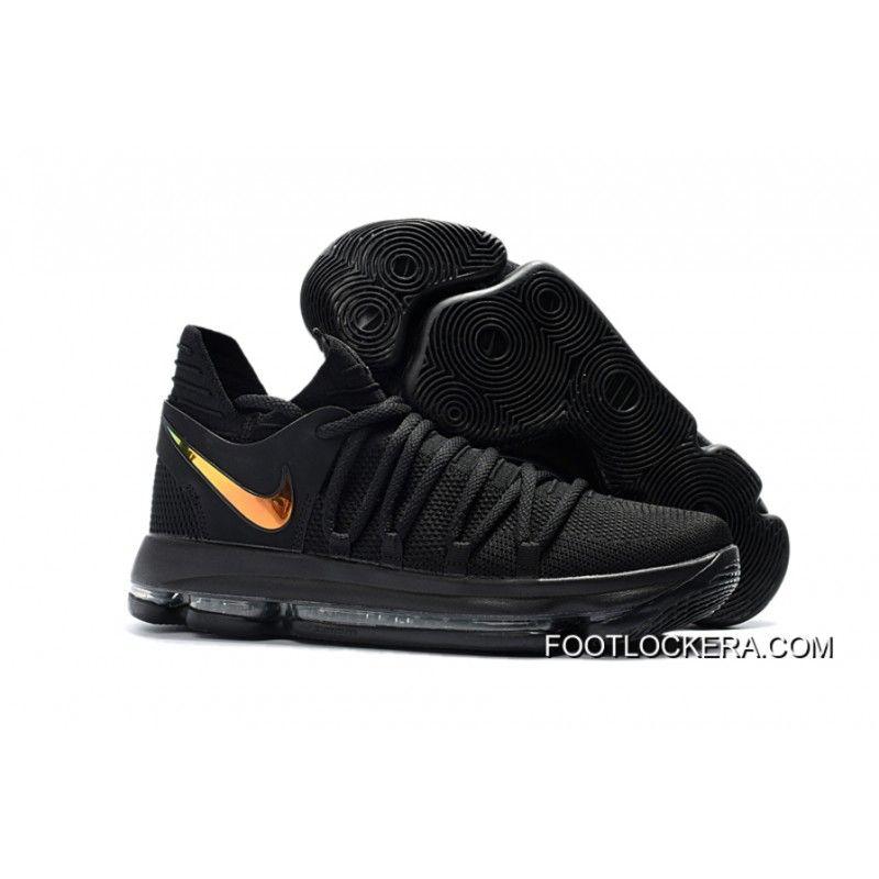 """Nike KD 10 """"PK80″ Black/Metallic Gold Discount, Price: $94.22 -"""