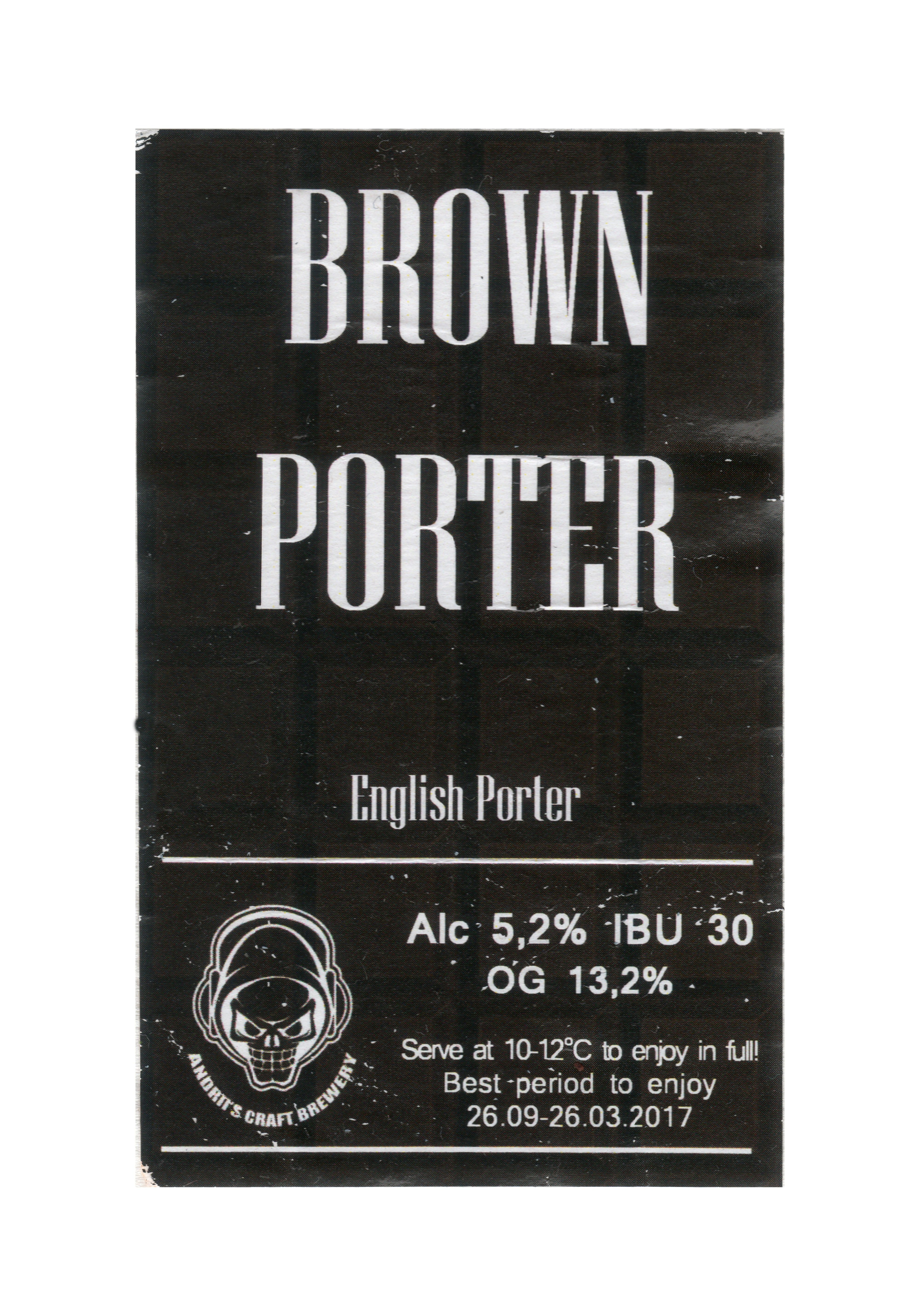 Andrii's Brown Porter