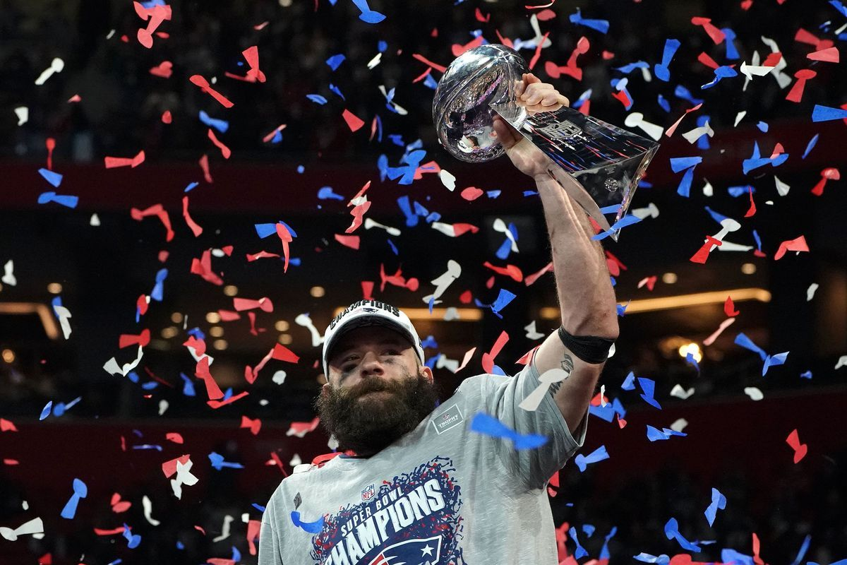 Reliable As Ever Patriots Edelman Wins Super Bowl Mvp Julian Edelman Super Bowl Happy Birthday Julian
