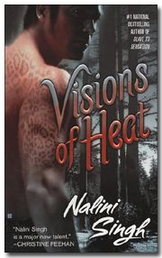 Visions of Heat (Psy-Changeling, Book 2) by Nalini Singh - paranormal romance