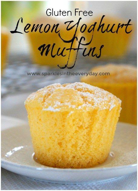 Fluffy Lemon And Yoghurt Muffins Gluten Free Option Recipe