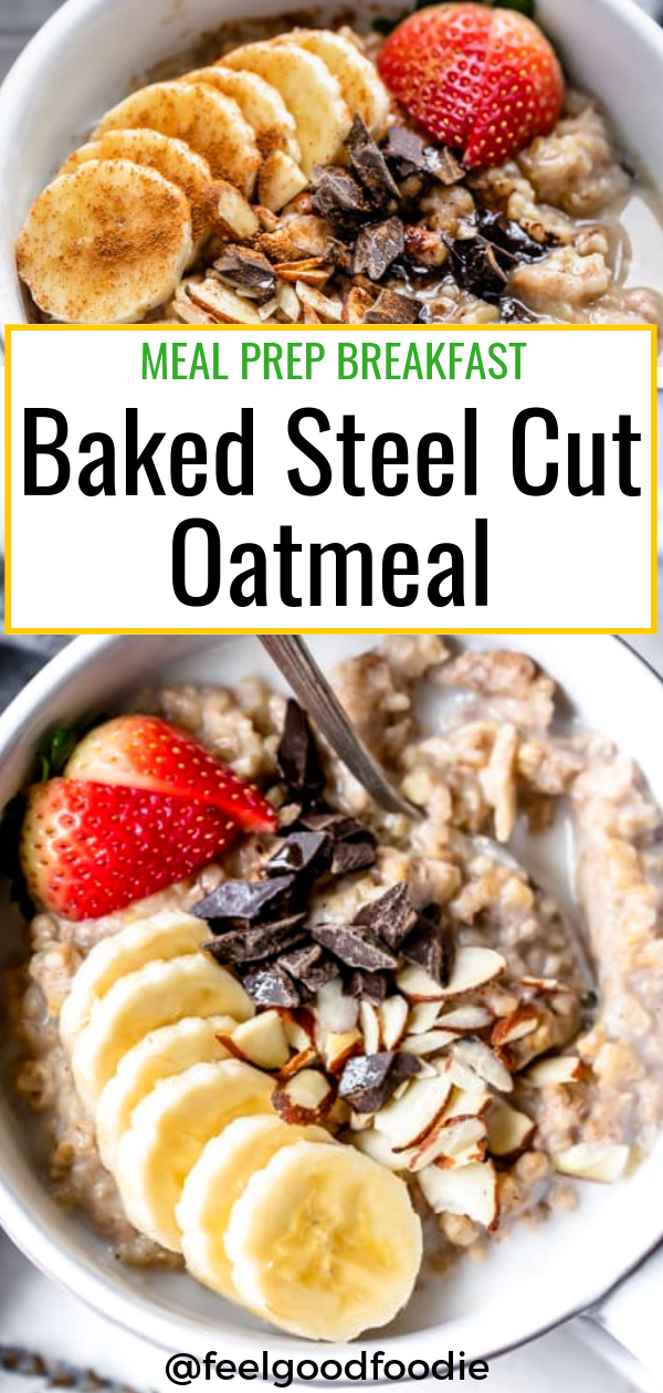 Baked Steel Cut Oatmeal images