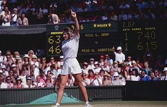 Steffi Graf Wimbledon 1991