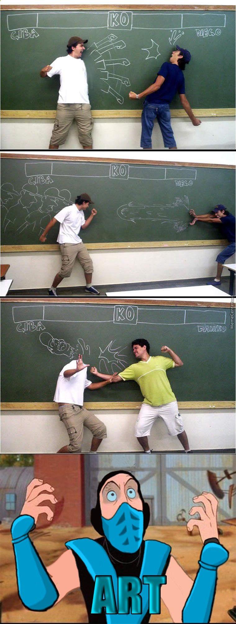Quand on sennuie en classe !