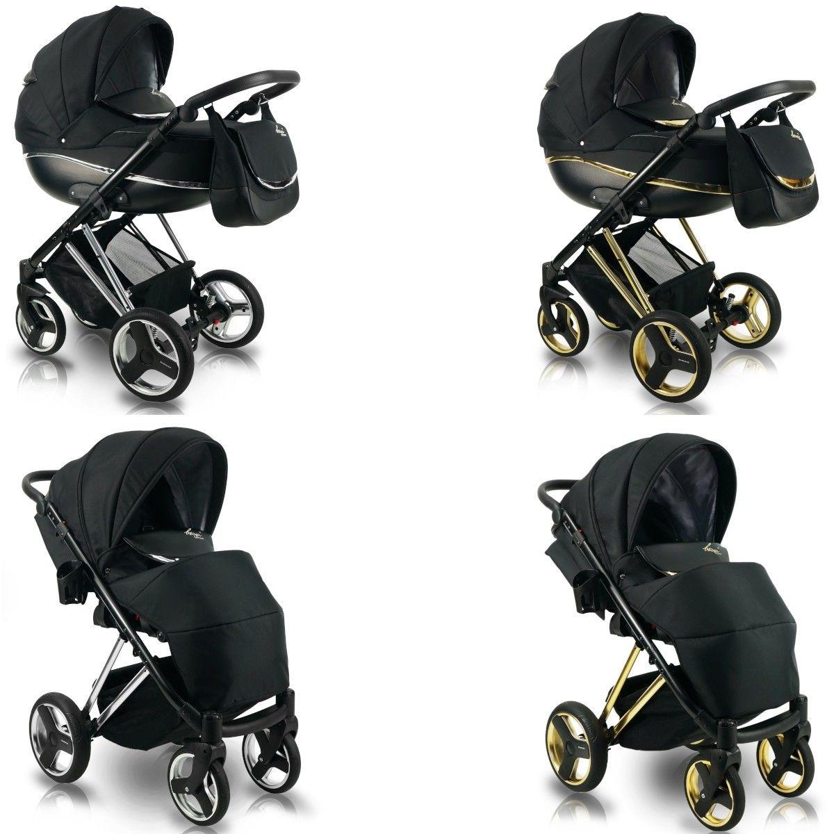 Bexa Next Metallic Kombi Kinderwagen 2in1 Mit Babywanne Sportwagenaufsatz Buggy Oder 3in1 Babyschale Autoschale 2 Farb Kinderwagen Kinder Wagen Buggy