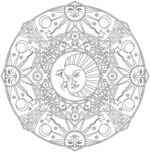 The Best Mandala Coloring Books For Adults Mandala Coloring