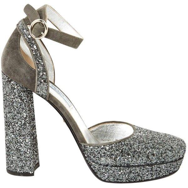 Pre-owned - Glitter heels Prada LecJH