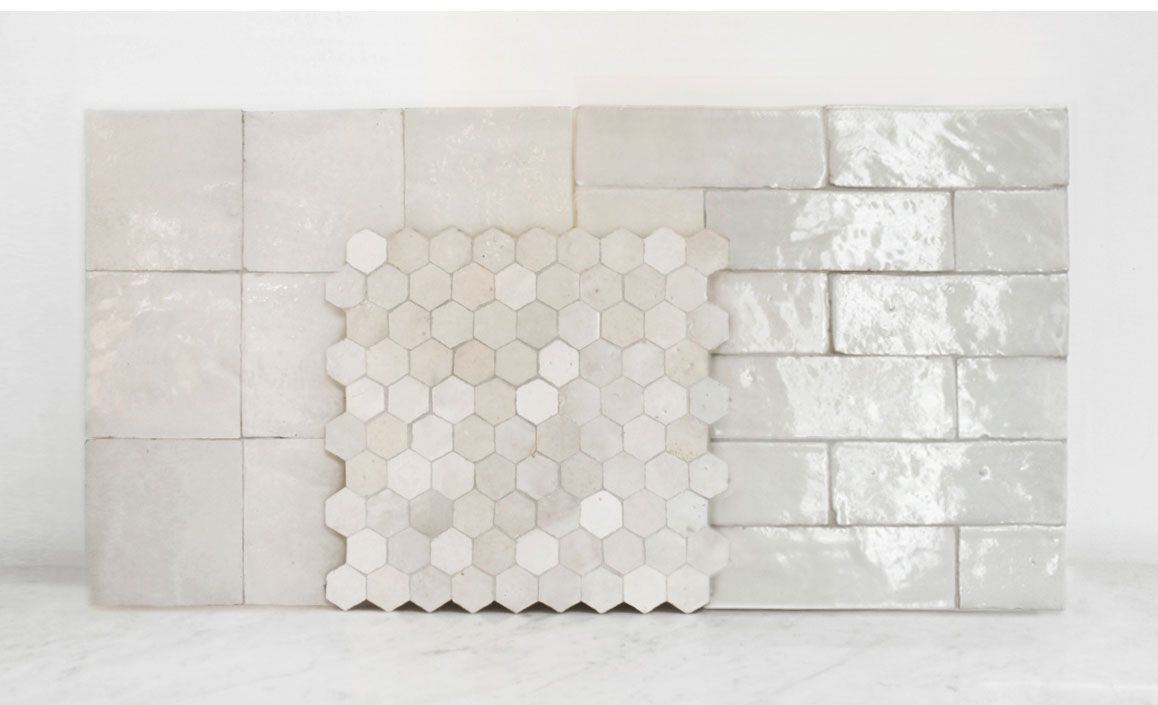 Mosaic house tile stone pinterest house subway tiles and pearlescent tiles from mosaic house ny the light reflecting quality of the tiles might make my little bathroom seem brighter and more fabulous dailygadgetfo Gallery