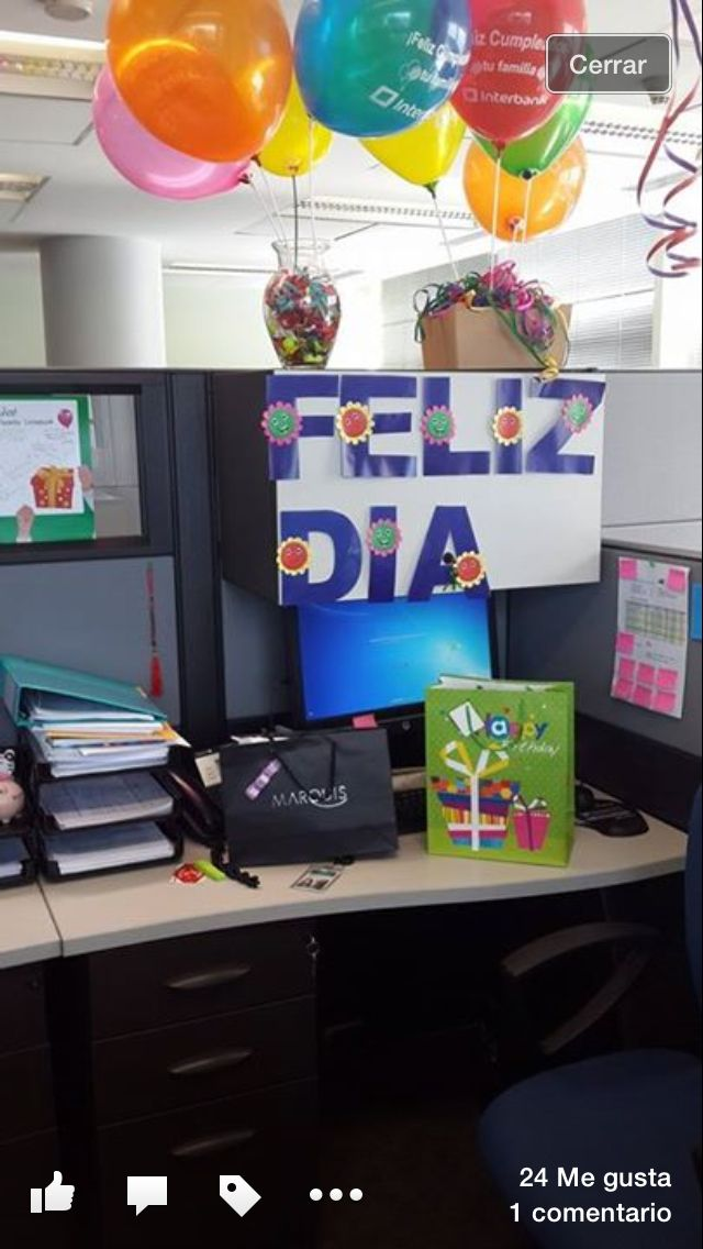 Ideas para cumplea os en oficina ideas for birthdays for Adornos para oficina