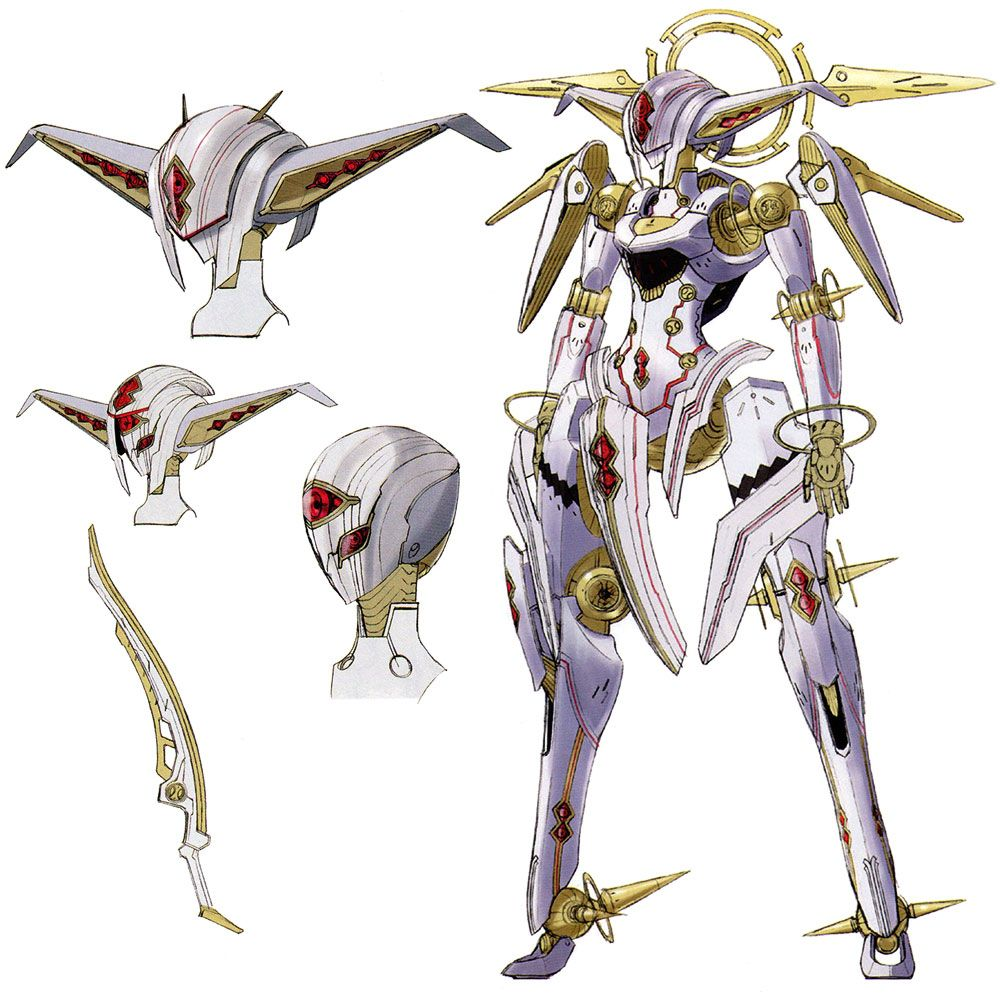 Character Design Xenoblade : Nemesis concepts xenoblade inspiration video game