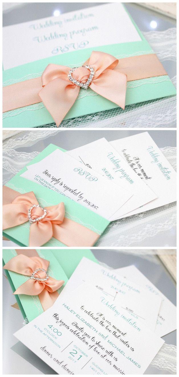 Hochzeitseinladungen Hochzeitseinladung Einladungskarte Einladung Hochzeit  Hochzeitseinladungskarten Hochzeitseinladungskarte Zur Hochzeit Romantisch  ...