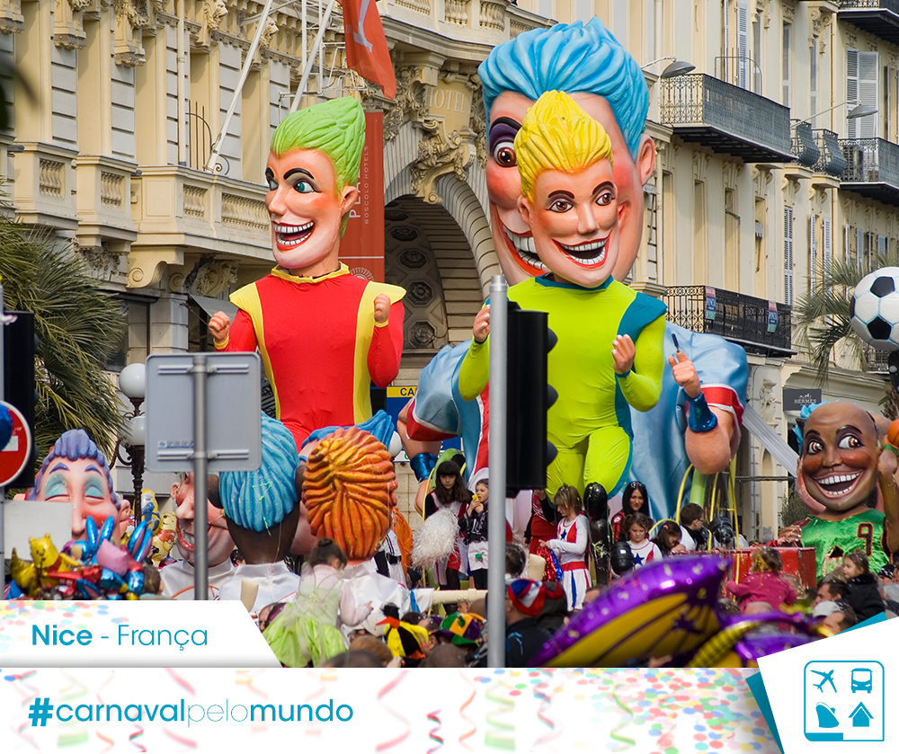 What is carnaval and Mardi Gras and why/how is it celebrated in Nice, France?