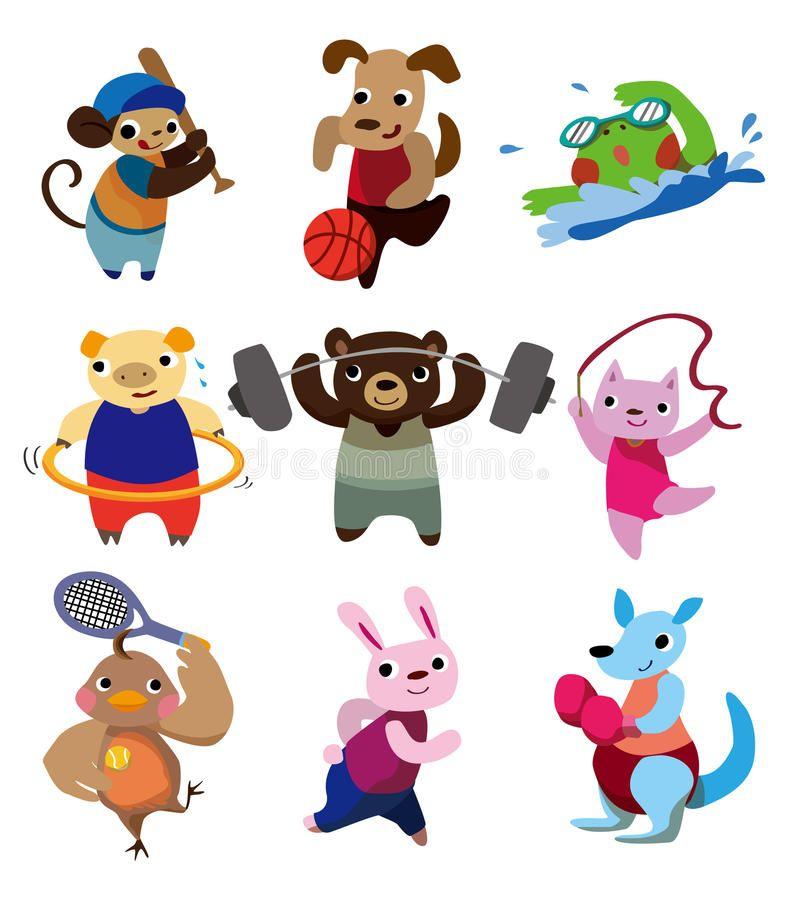 Cartoon Animal Sport Vector Illustration Sponsored Ad Sponsored Animal Vector Sport Cartoon Cartoon Animals Cartoon Diy Prints