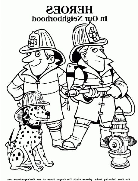 The Best firefighter coloring sheets -    coloringalifiahbiz - best of coloring pages with monkeys
