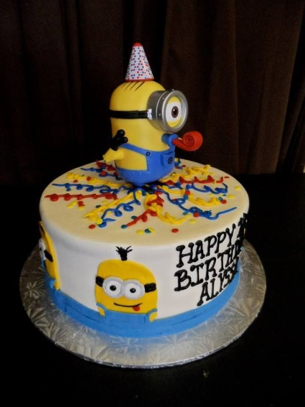 despicable me cake ideas Despicable Me Minions birthday cake