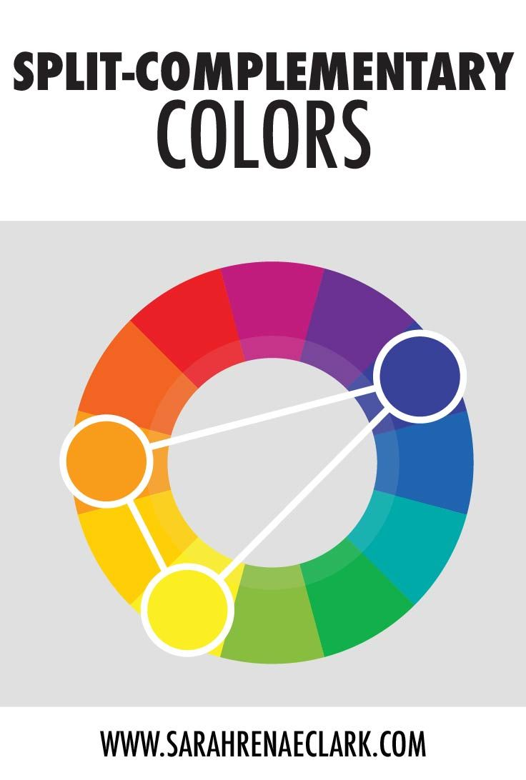 Split Complementary Colors This Color Scheme Is A Variation Of The