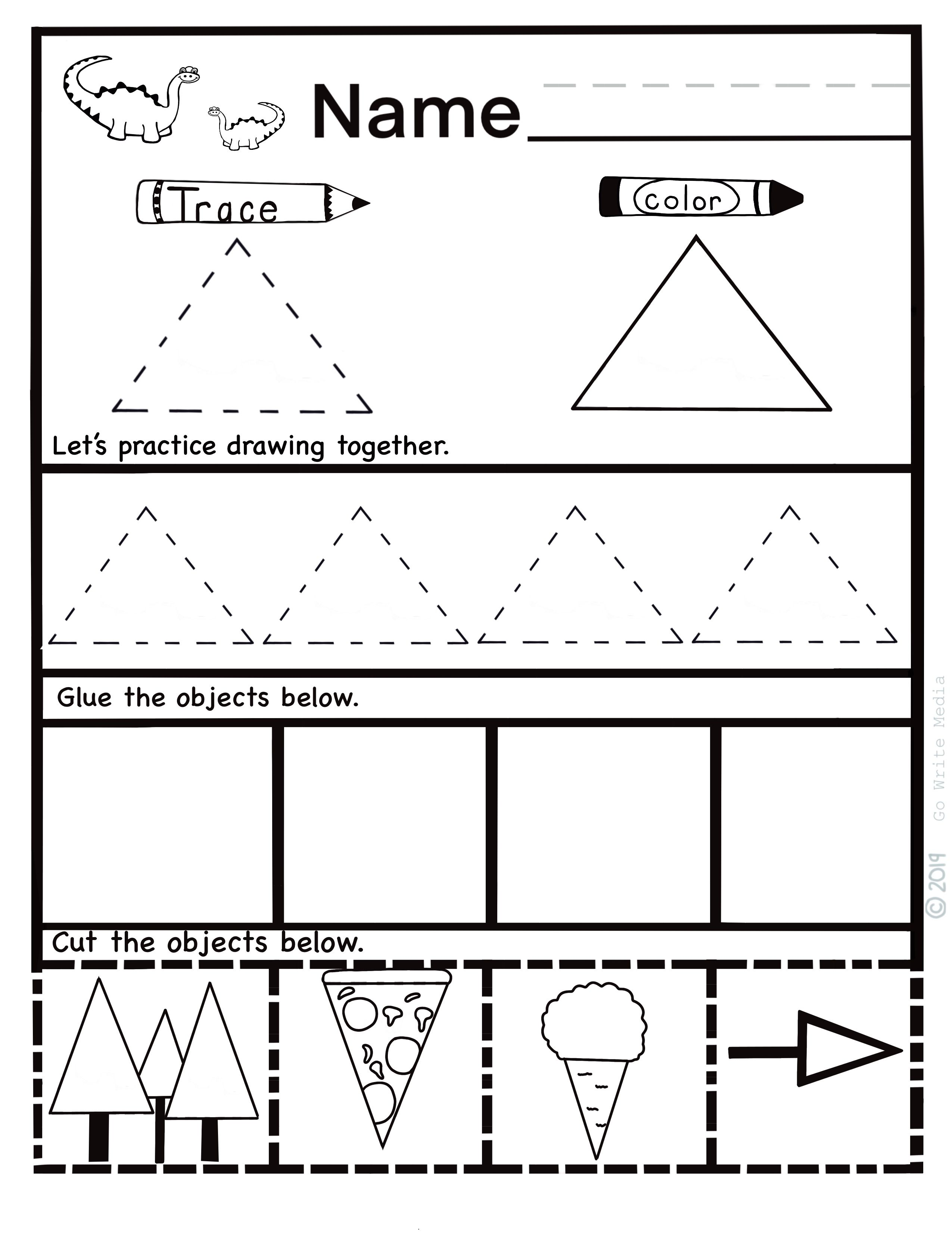 Pin On Learning 2d Shapes Printables