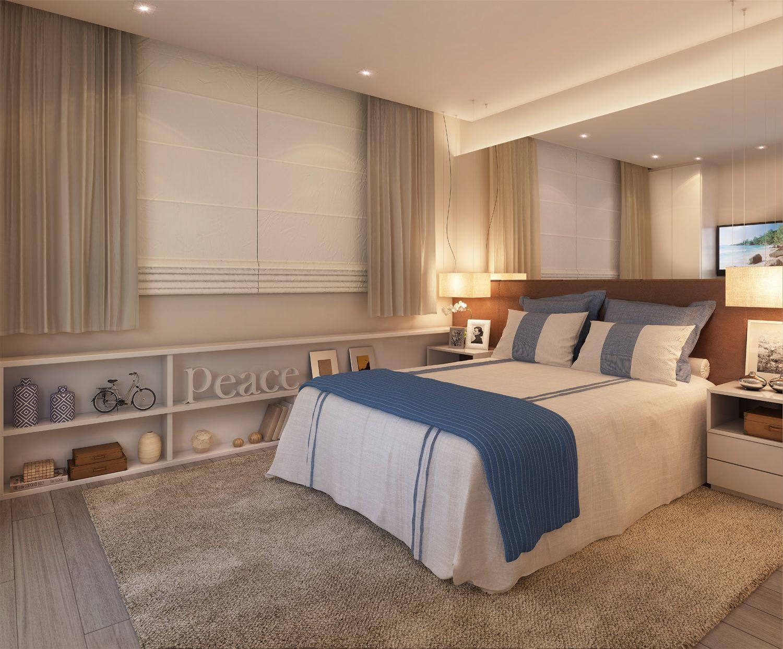 3 master bedroom apartments  Suíte Master  Apartamento  quartos  Condomínio Viure  Ilha Pura