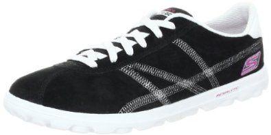 Skechers Women's Go Court Shoe,Black