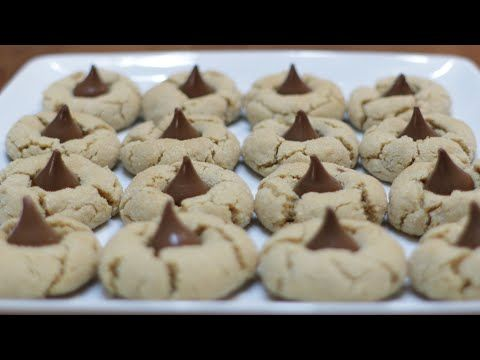 How to Make Peanut Butter Blossom Cookies | Easy Peanut Butter Cookie Recipe