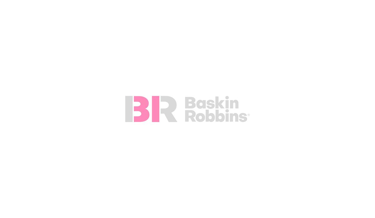 Baskin Robbins Rebranding On Behance Baskin Robbins Concept Design Baskin Robbins Logo