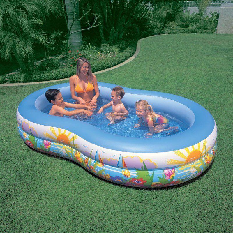 Inflatable Kids Swimming Pool Outdoor Backyard Play