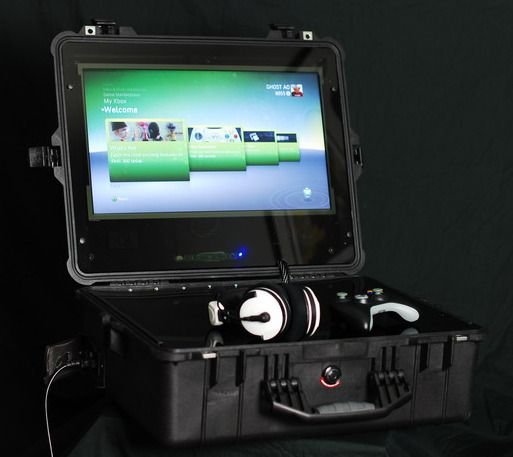 Xbox Mobile Setup In A Pelican Case