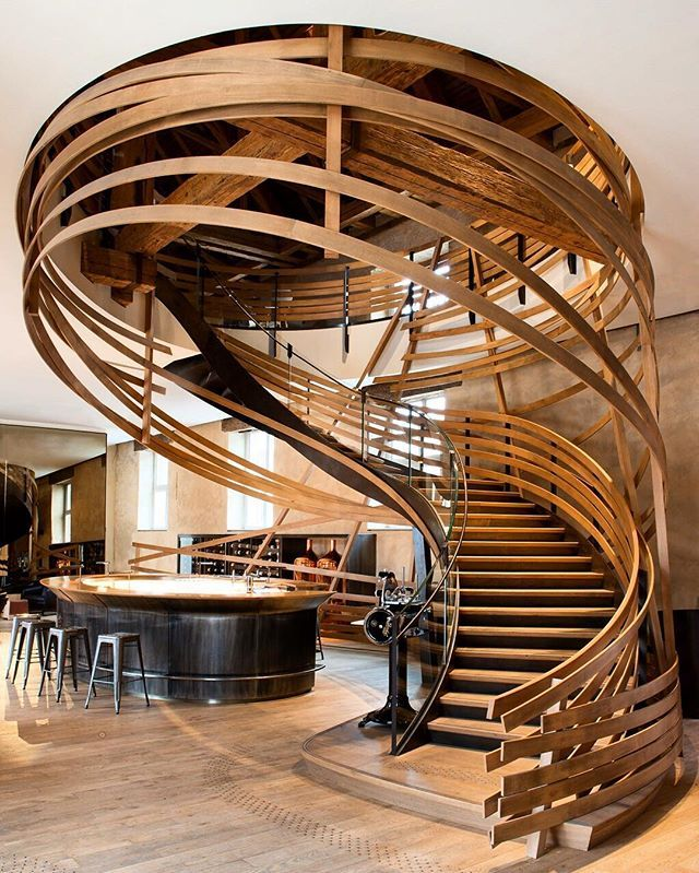 Mark humphreys marmor treppe design grau st. james theater london ...