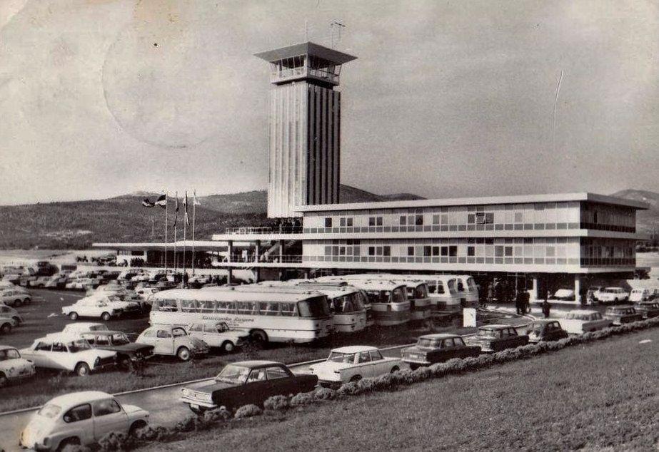 Split 1960 Tih Aerodrom Splits Croatia Space Needle