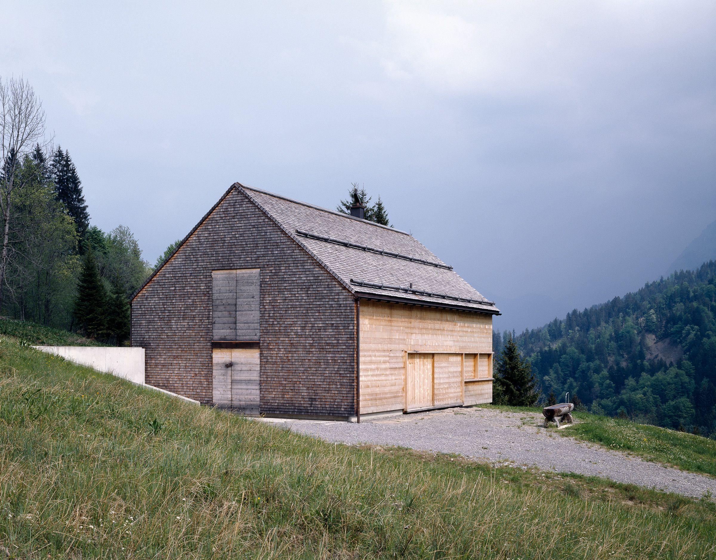 Elma Alp, Vorsäß | Architekten Hermann Kaufmann ZT GmbH
